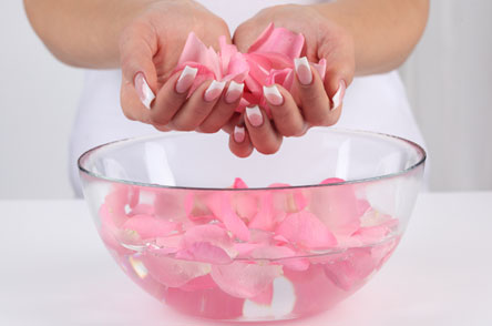Have a fresh skin with rose sweat